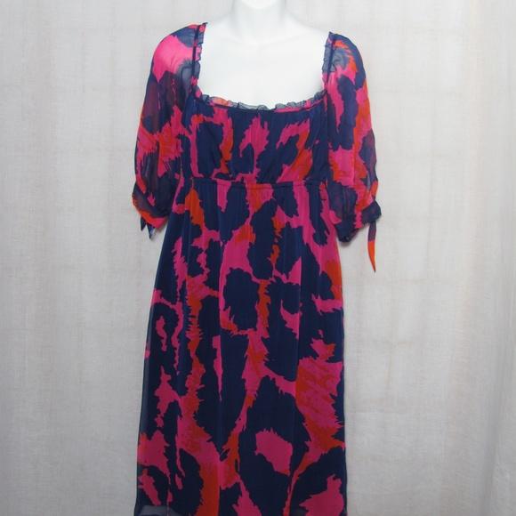 Diane von Furstenberg Dresses   Skirts - Diane Von Furstenberg Genesis Dress  Silk Size 10 bb2adf586